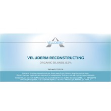 Veluderm Organic silanol 0.5% reconstricting solution